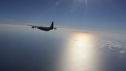 Harrier and Osprey air to air refueling Footage