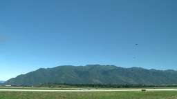 2014 Warriors Over the Wasatch Air Show Stock Video Footage