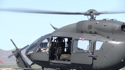 UH-72 Lakota Helicopter Training Stock Video Footage