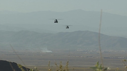 Chinook Helicopter Stock Video Footage