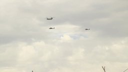 Chinook Helicopter Footage