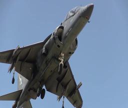 Harrier Jump Jet Stock Video Footage
