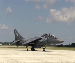 Harrier Jump Jet Stock Video Footage