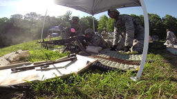 Live Fire Training on M240 and M249 Machine Guns Footage