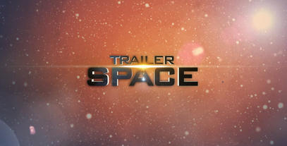 Space Light Trailer (Unlimited) After Effects Project