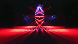 VJ Colorful blinder stage light dance show Animation