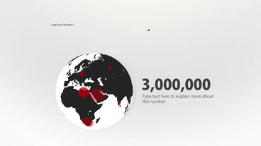 Infographic Red After Effects Project