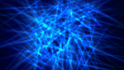 Network blue 01 CG動画素材