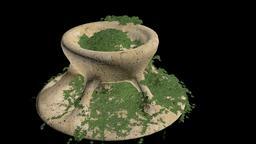 Old Fountain Modelo 3D