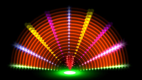 RAINBOW NEON TUNEL Animation