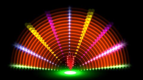RAINBOW NEON TUNEL Animación