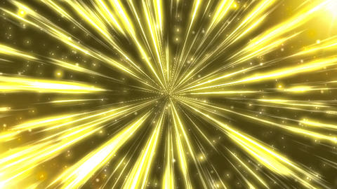 Radiation Background CG Ray Yellow Animation