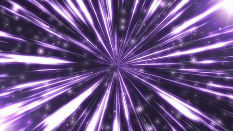 Radiation Background CG Ray Purple Animation