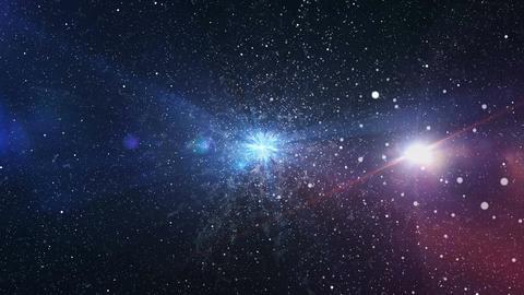 Big Bang galaxy Animation