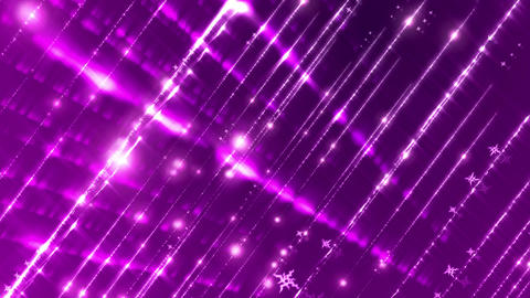 Light Glitters String Loopable Background Animation