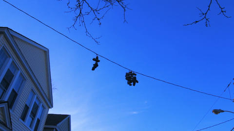 Shoes On The Wire