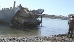 Tank Landing craft 4th Tank Battalion Annual Training Footage