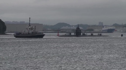 Los Angeles-class fast attack submarine USS Oklahoma City (SSN 723) Footage
