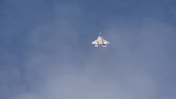 F-22 Raptor tail slide at the Arctic Thunder Airshow - Open House 2014 Footage