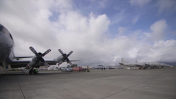 RNZAF P3 Orion aircraft, RIMPAC 2014 Footage
