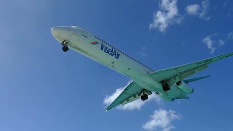 Insel air plane lands Live Action