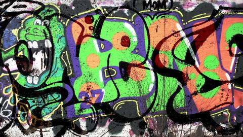 Fresh & Acid Graffiti Mix Footage
