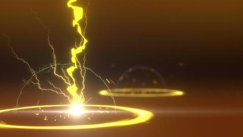 SHA Lightning BG Image Yellow Animation