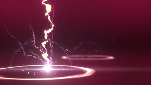 SHA Lightning BG Image Pink Animation