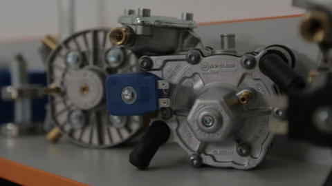 Vehicle engine spare parts Footage