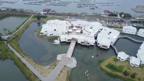 DJI MAVIC 4K Taiwan Tainan Aerial Drone Video Anping Sicao Bridge 20170324 cut(1 Filmmaterial