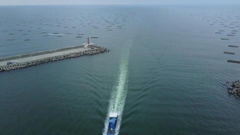 DJI MAVIC 4K Taiwan Tainan Aerial Drone Video Anping Sicao Bridge 20170324 cut(2
