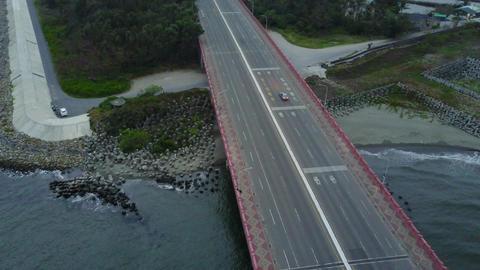 DJI MAVIC 4K Taiwan Tainan Aerial Drone Video Anping Sicao Bridge 20170324 cut(3 Footage