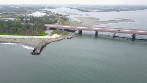 DJI MAVIC 4K Taiwan Tainan Aerial Drone Video Anping Sicao Bridge 20170324 cut