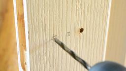 Mount a Door Lock Footage