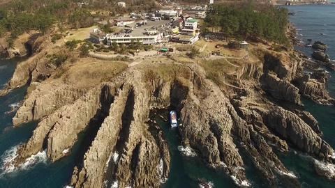 tojinbo Aerial Shoot 東尋坊 日本海 ビデオ