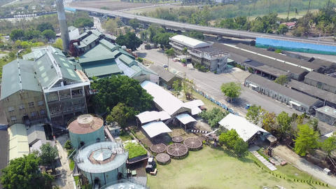 DJI MAVIC 4K Taiwan Tainan Aerial Drone Video Ten Drum Culture Village 20170325  Filmmaterial