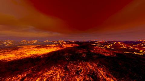 Hell Lava Animation