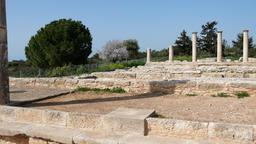Temple of Apollo near Kourion Cyprus Europe 영상물