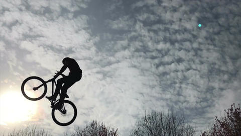 Mtb Freestyle Slow Motion GIF