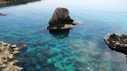 Protaras landscape,Meditarian sea,Cyprus Filmmaterial
