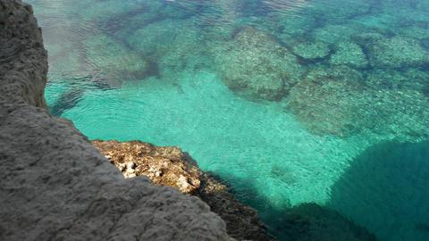 Protaras landscape,Meditarian sea,Cyprus Footage