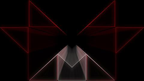 Minimal Red Ray Z4 29fps VJLoop LIMEART Live Action