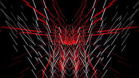 Backlines - Red11 60fps VJLoop LIMEART Stock Video Footage