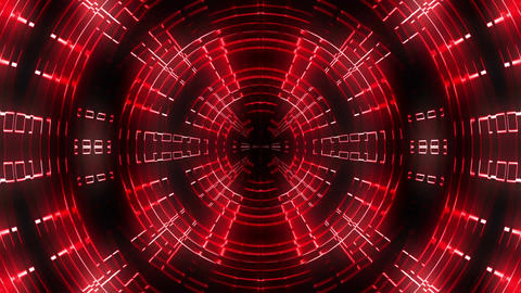 Dynamic Red Bass LIMEART VJ Loop FullHD Footage