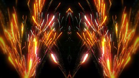 Fireworks Glitch Strobe 1 60fps VJLoop LIMEART Footage