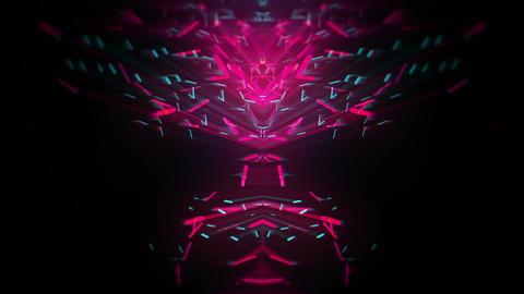 Neon Dust Vj Loop FullHD Footage