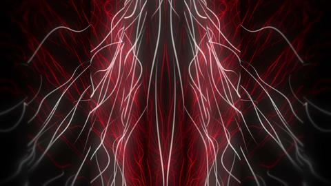 VJ Loop 23 Red White Matrix 1 60fps VJLoop LIMEART Footage