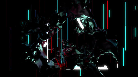 Fluid Beat 4K 01 Vj Loop Animation