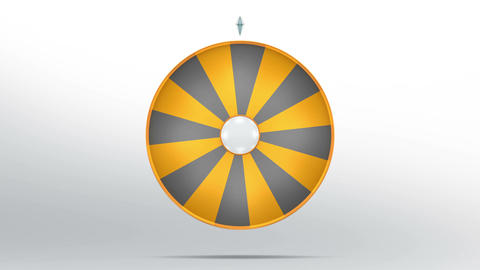 Lucky wheel fortune sixteen parts 4K Animation