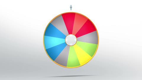 Lucky wheel fortune twelve 4K
